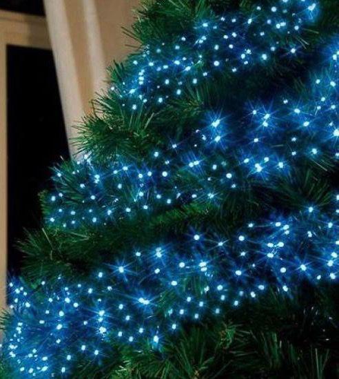 Blue Ribbon Tree holiday\u2022christmas/lights Pinterest