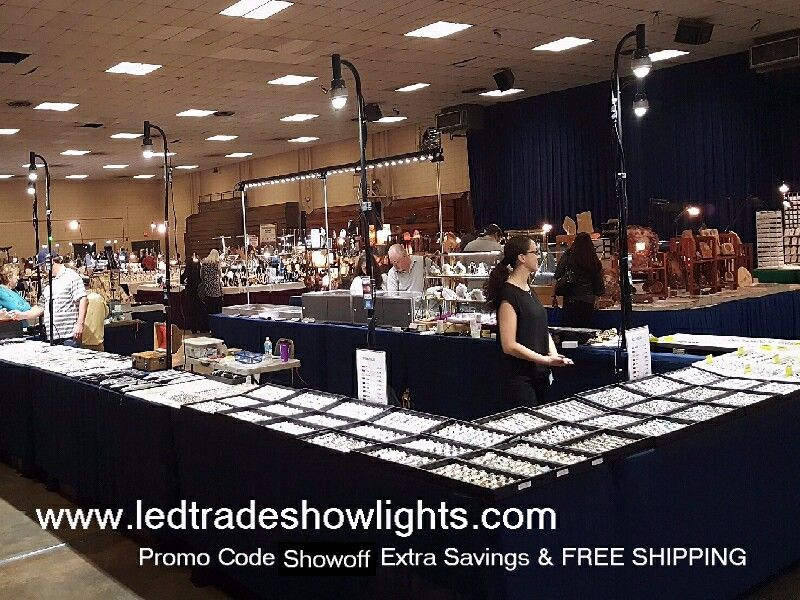 trade show jewelry display lighting rentals available on www