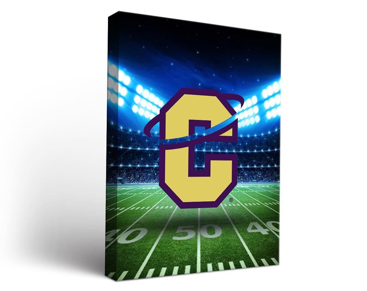 Carroll College Saints Football Stadium Canvas Art Rectangle