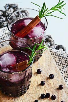 Photo of Wintercocktail Rezept für Blueberry Cinnamon Old Fashioned