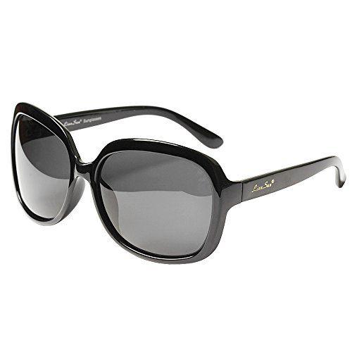 058641e31a6 LianSan Women s Oversized Polarized Sunglasses Lsp301 (polarized black)