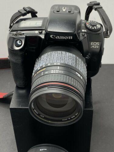 Canon Eos A2e 35mm Slr Film Camera With Sigma Hyper Zoom 28 300mm Lens Ebay Slr Film Camera Instant Film Camera Instant Camera