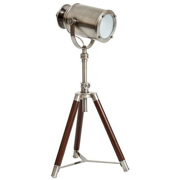 promo code b882c 169d8 Pottery Barn CFL Photographer's Mini Tripod Table Lamp ($249 ...