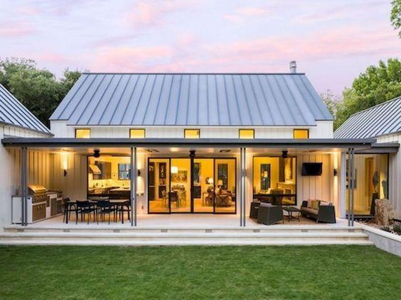 90 incredible modern farmhouse exterior design ideas (73) #ModernHouseExteriors
