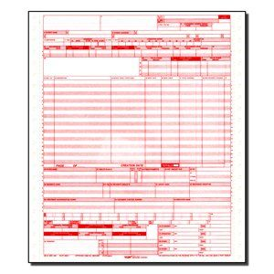Cms 1450 / Ub04 Medical Billing Forms (1000 Sheets) [Office Product
