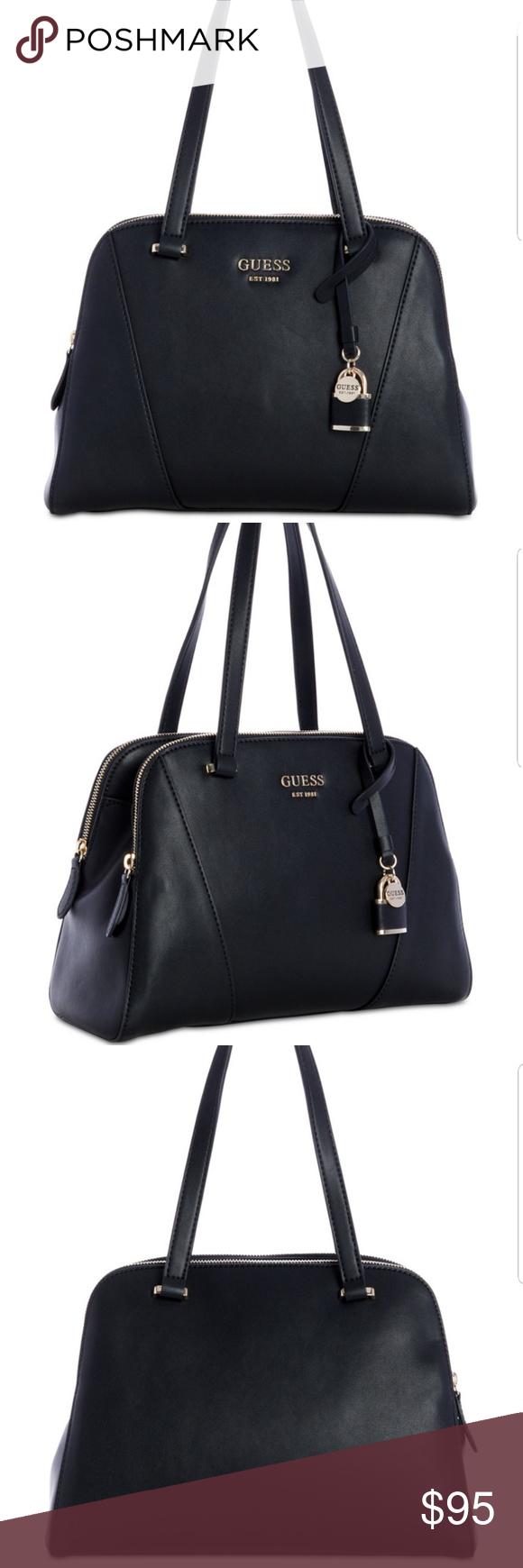 a0573108a2a8 Guess Shawna Cali Shoulder Leather Bag GUESS  Cali Shoulder Bag conceals  multiple compartments in a