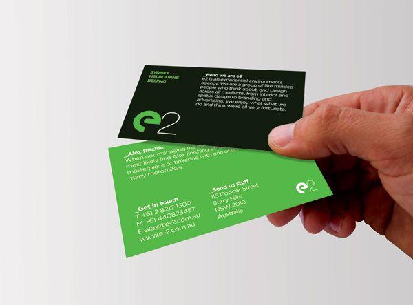 729821271077643 40 Inspiring Business Card Designs