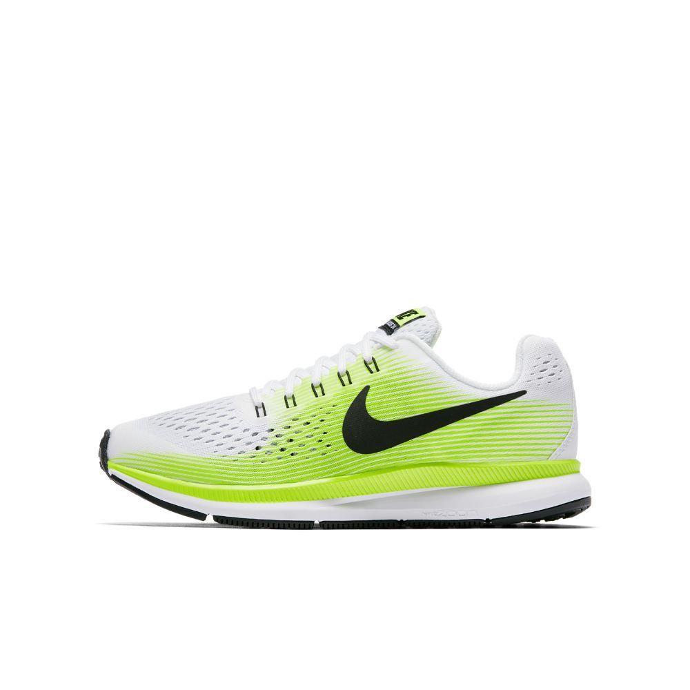 812603ee74c0 Nike Zoom Pegasus 34 Big Kids  Running Shoe Size 5.5Y (White ...
