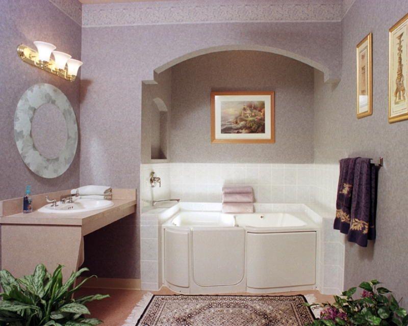 Pleasantville, NJ. Handicap bathroom at Villa Raffaella Assisted ...