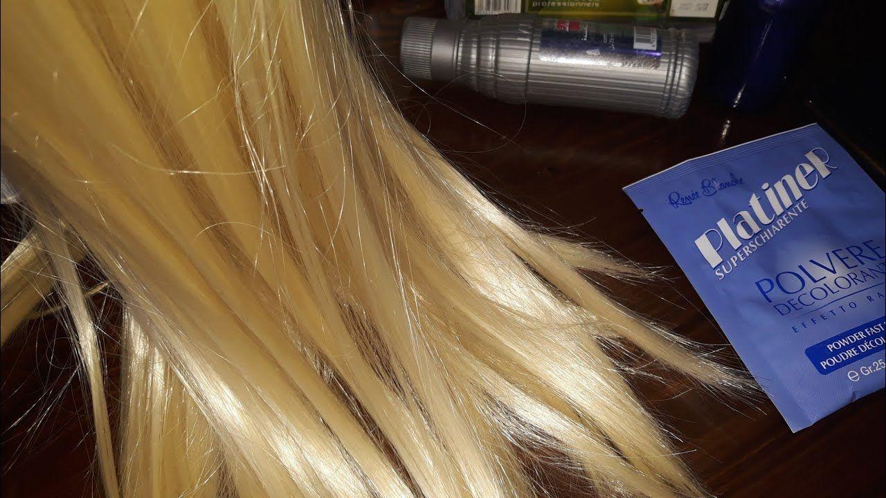 طريقة صبغ الشعر اشقر بلاتيني في البيت بطريقة سهلة وغير مكلفة