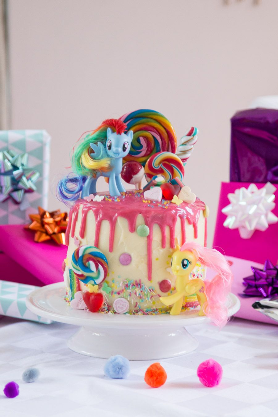 My Little Pony Torte Zum 4 Geburtstag Mother S Finest Party