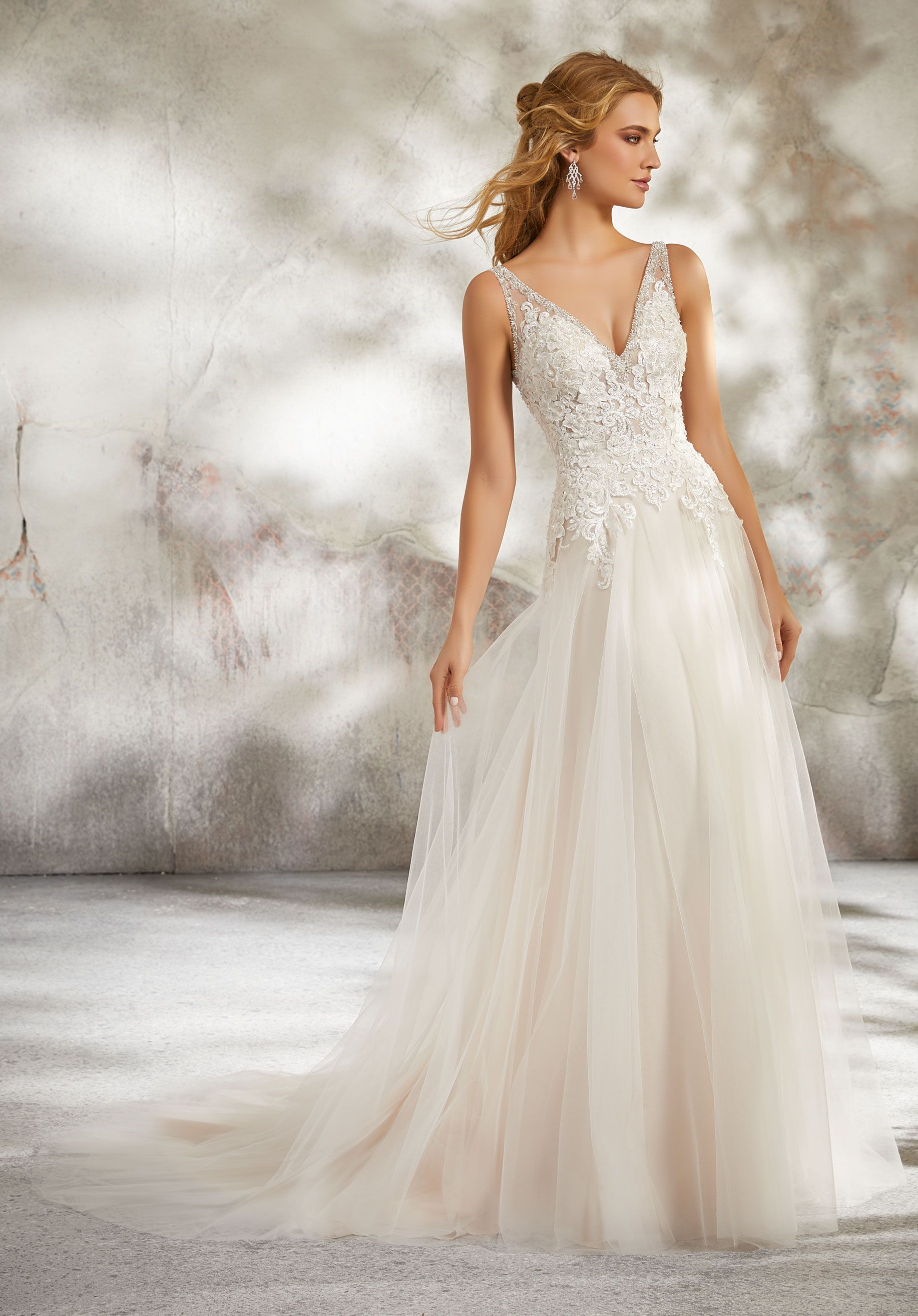 Luana wedding dress style morilee weddingdress wedding