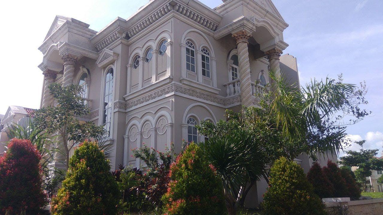 Rumah Mewah Klasik Lahan 18x16 Cluster Kalideres Jakarta Barat 5 1 Kamar Garasi 1 Mobil Carport 2 Mobil Tanah 18x16 Bangu Home Fashion Rumah Mewah Klasik