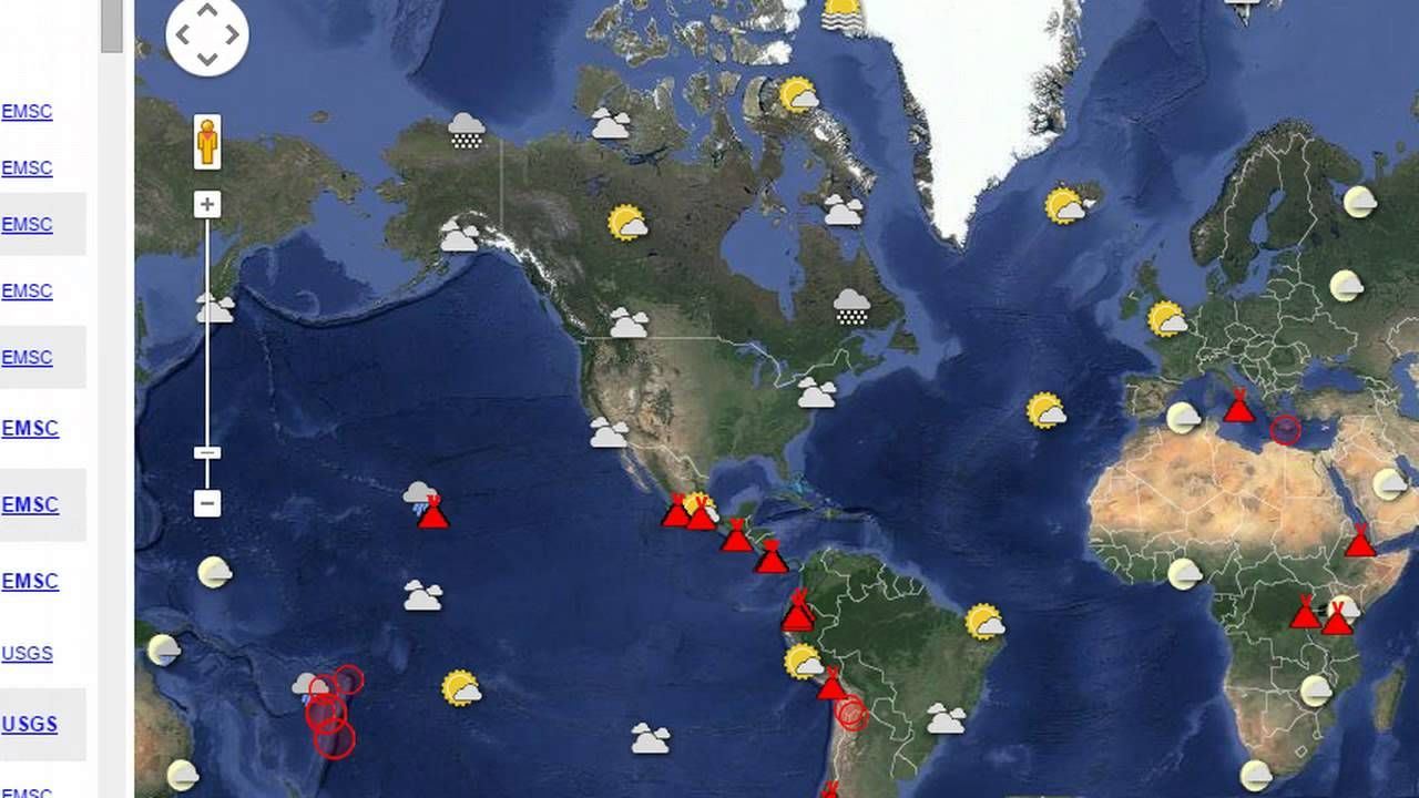 Earthquake Volcano and Sun Activity Update 5615
