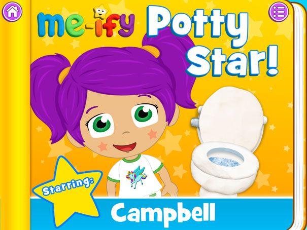 Me-ify Potty Star App Review