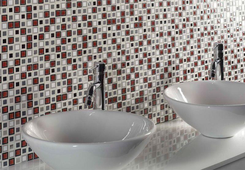 Decoración con mosaicos para baños originales | Baños originales ...