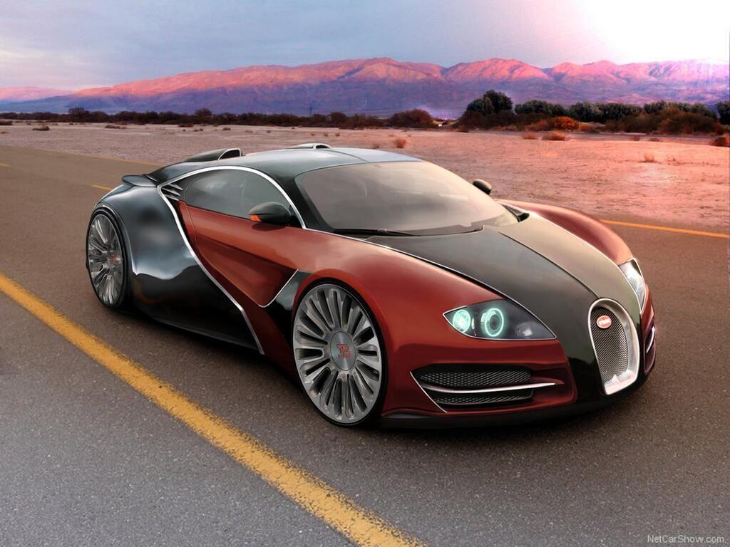 Bugatti EB concept WOW! the wheels though