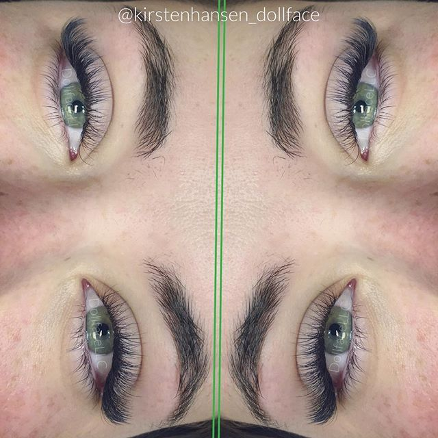 bad181e75bf You could go somewhere else, but you deserve Dollface Lashes & Beauty. Russian  Volume .07 8-12mm D Curl #kirstenhansen #kirstenhansenlashartist #dollface  ...