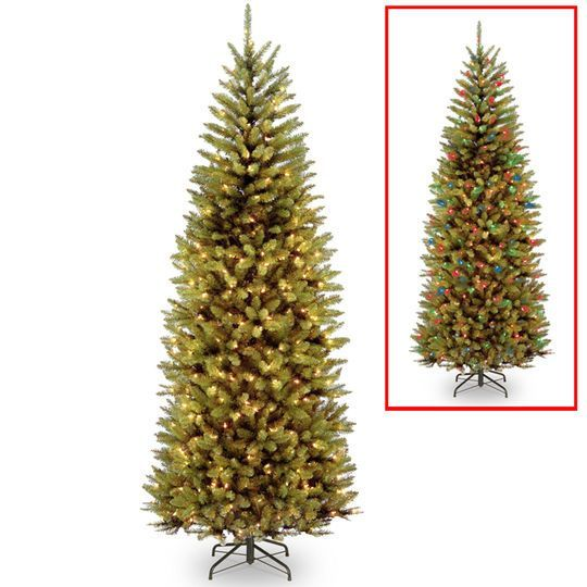 75 ft Pre-lit PowerConnect Kingswood Fir Slim Artificial Christmas
