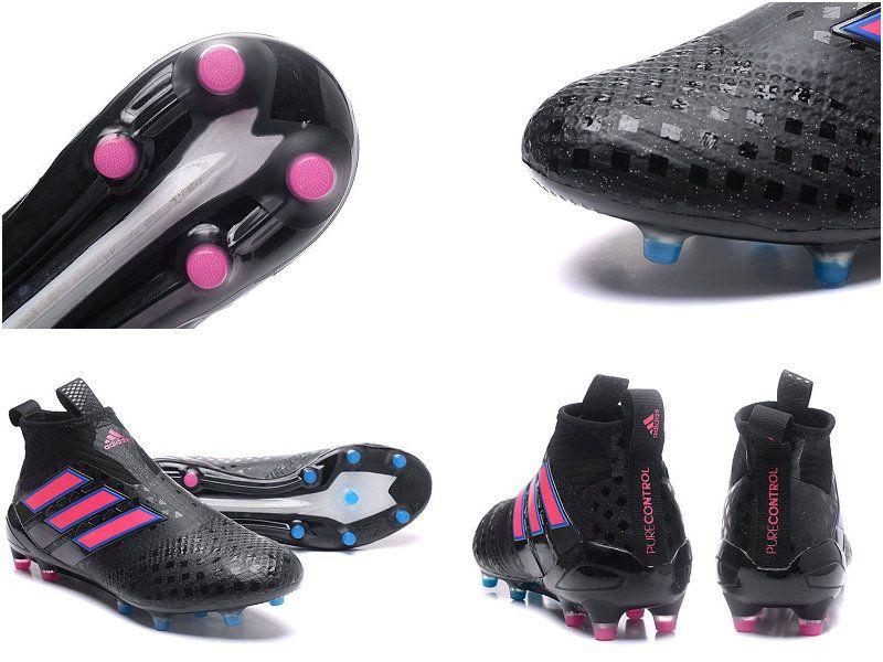 La noir rose adidas ace 17+ Tige respirante adidas Primeknit