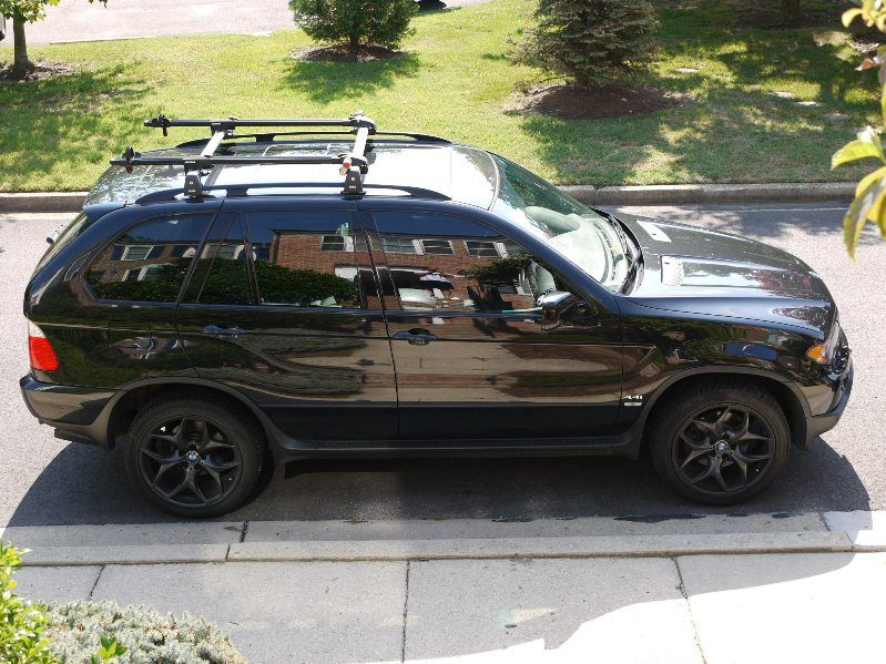 Bmw X6 With Roof Rack