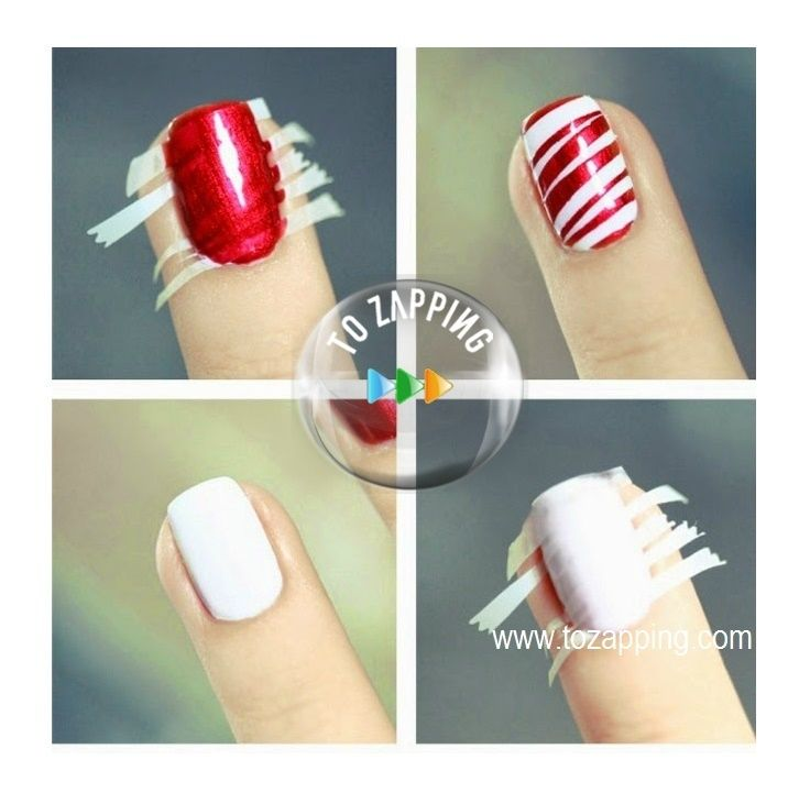 Uñas Decoradas Fácil De Hacer - Tozapping.com | Hair style and Makeup