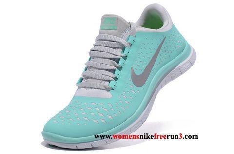 02eceb41020f Nike 3.0 V4 Crystal mint Grey Womens Shoes For Running Size 8.5 Sale |  Tiffany Nike Free Runs - $47.14