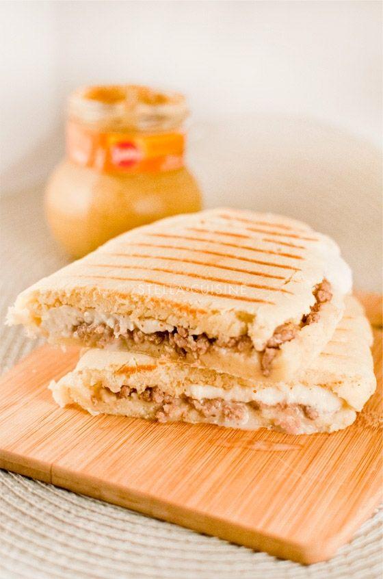 Recette de panini au boeuf, à la moutarde à l\u0027ancienne et à la - cuisine a l ancienne