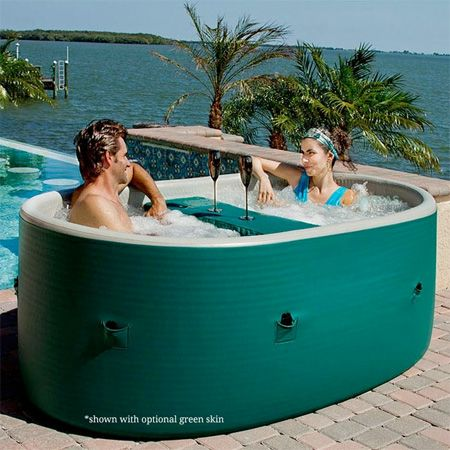 Portable Hot Tub For the Home Pinterest Hot tubs, Tubs and - garten pool aufblasbar