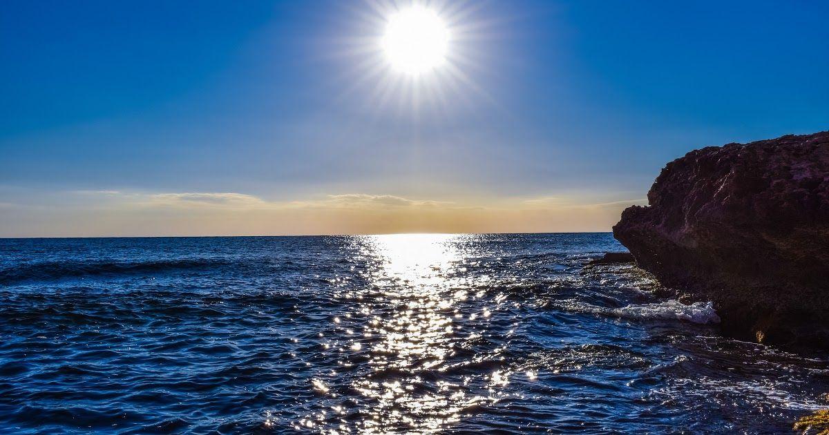 15 Wallpaper Pemandangan Pantai Sore Hari Gambar Laut