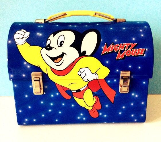 Mighty Vintage Vintage Mighty Mouse Lunch Box By Jollywolly On Etsy