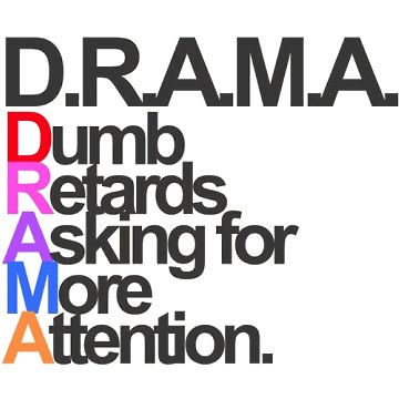 The meaning of drama