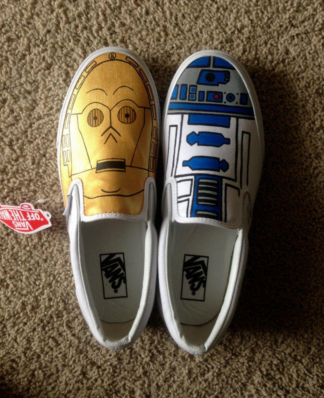 51e4408572 C3PO   R2D2 Star Wars Vans