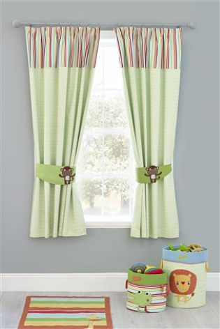 Buy Jungle Brights Pencil Pleat Blackout Lined Curtains From The Next UK  Online Shop