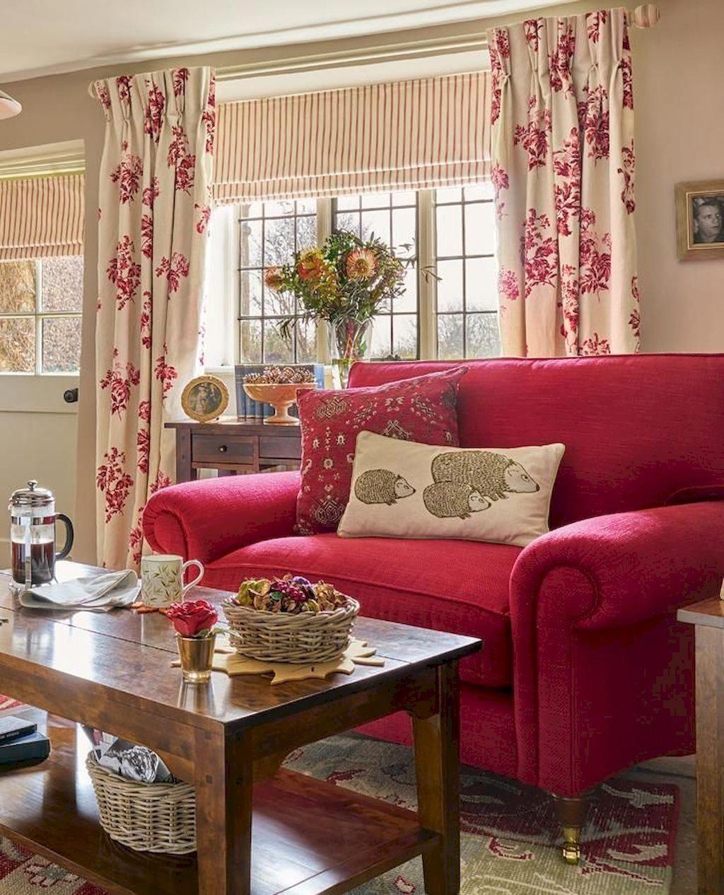 06 Cozy Farmhouse Living Room Makeover Decor Ideas ...