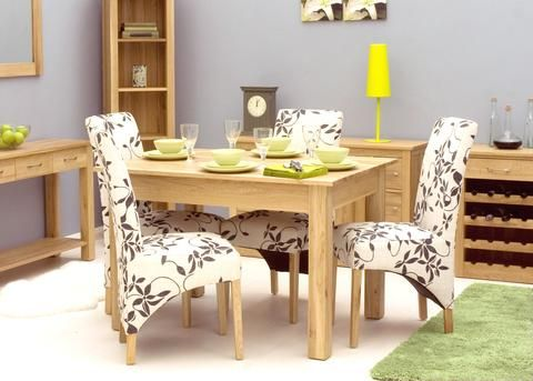 Mobel Oak Dining Table 4 Seater  Dining  Pinterest  Oak Custom Oak Dining Room Furniture Design Ideas