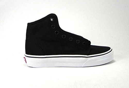 Women's Unisex Shoes 106 Hi Black White Sneakers 0RQM6BT (9.5 Women/ 8 Men)