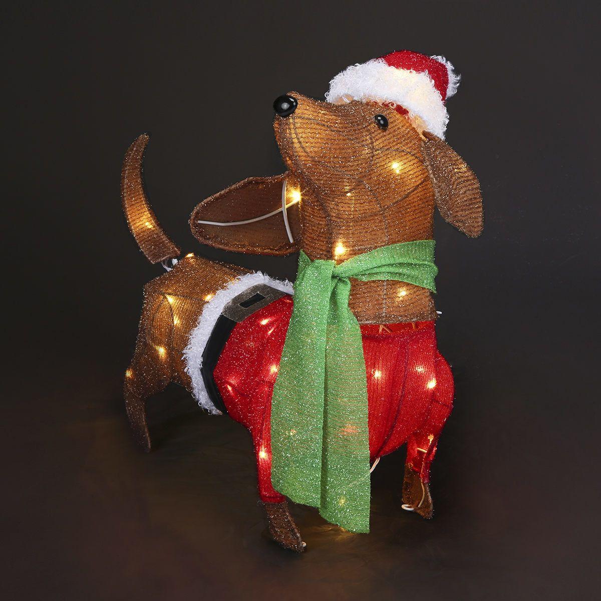 Low Voltage Tinsel Sausage Dog Light   Kmart   Dog light ...