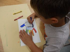 Panther's Palette: 2nd Grade: Color Wheel Hands