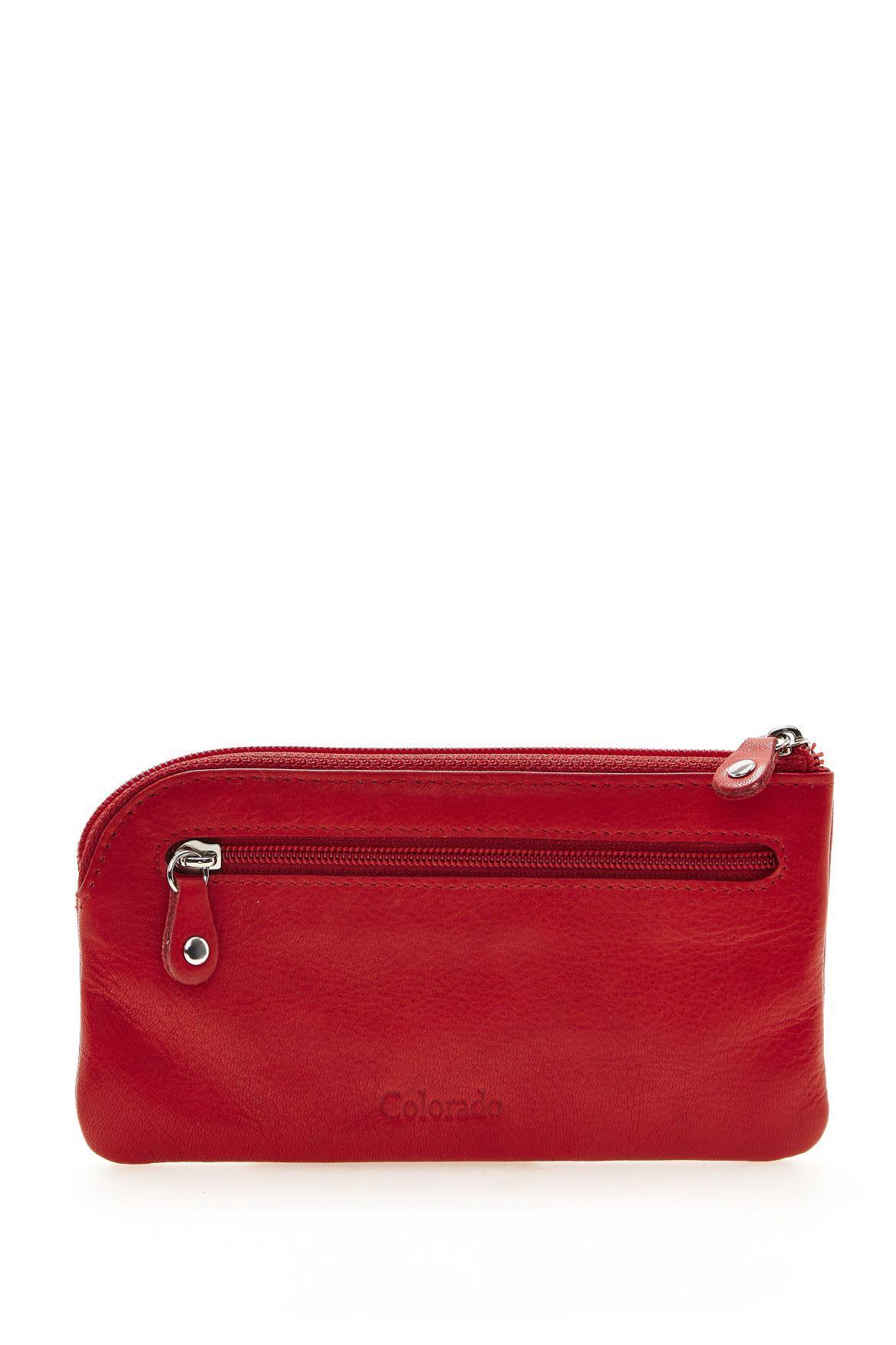 Colorado - red zip purse