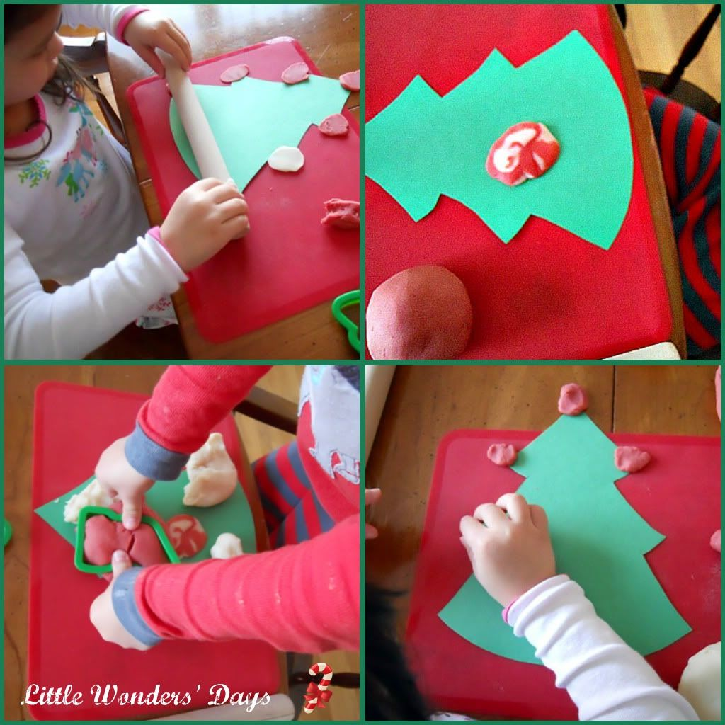 Candy Cane Play Dough Standard Recipe With Peppermint