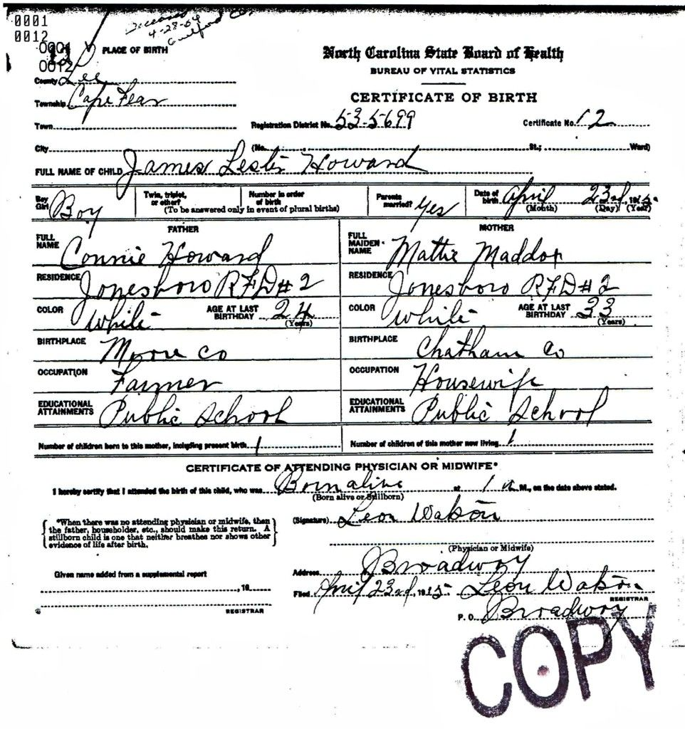 ElvisS Birth Certificate  I  Elvis    Birth Certificate