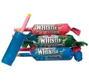 Yep, a fun candy to achieve two goals: 1) make cool whistle sounds. 2) annoy everyone around you