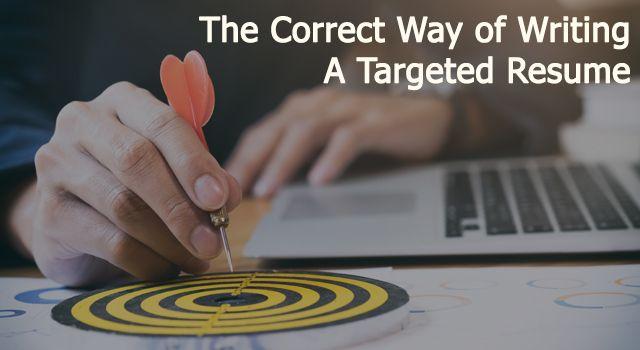 Correct Way To Write Resume   Http Saytooloud Com Resume Writing Correct Way Writing Targeted