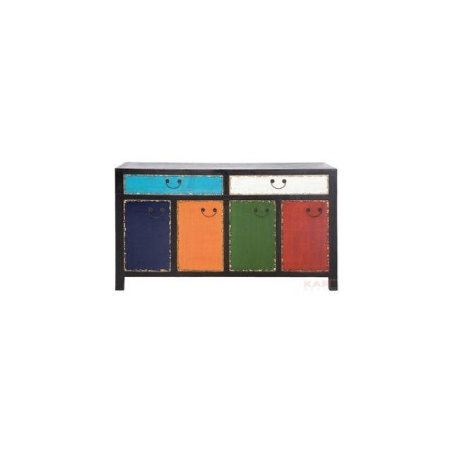 Kare Harlekin buffet harlekin 2 tiroirs 4 portes kare design kare design wood