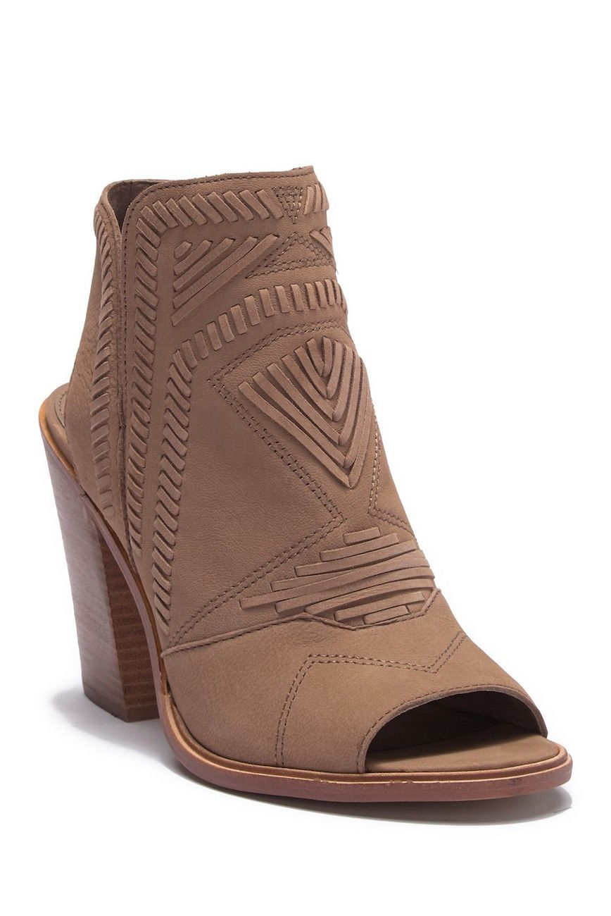 e14f8dbb99b Vince Camuto Karinta Block Heel Bootie - Beige. Available at Nordstrom Rack   affiliate