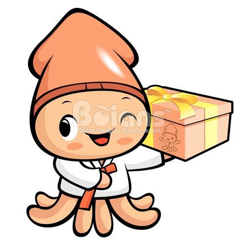Character Design Price : 보이안스 오징어 캐릭터 디자인 컷 업데이트 boians squid character design