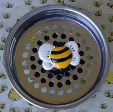 Bumble Bee Kitchen Decor | Bumble Bee Sink Strainer