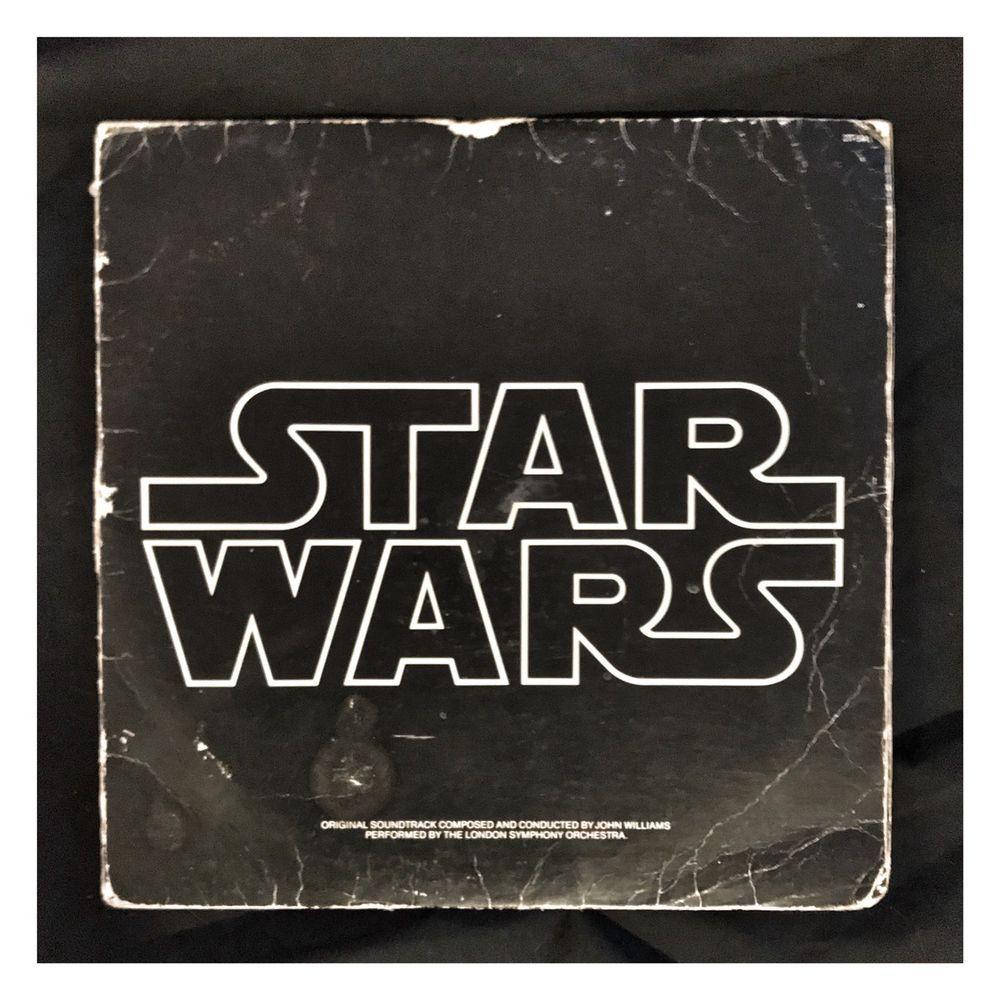 1977 Star Wars Original Soundtrack Vinyl Double Lp Record Vintage Rare Ebay Star Wars 1977 Star Wars The Originals