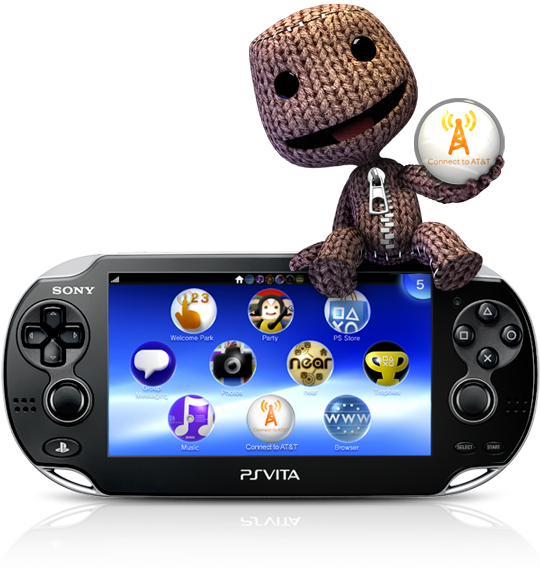 The new PS Vita!!! Waaaant!!! I could hand me down my PSP